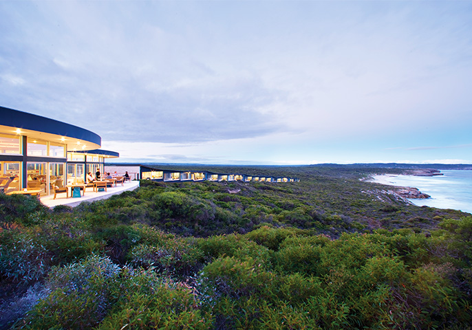 Southern Ocean Lodge in Kangaroo Island, South Australia