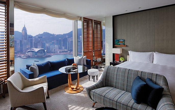 Rosewood Hong Kong: Grand Harbour View room