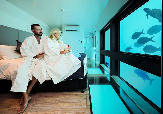 Australia's first underwater hotel: Reefsuites