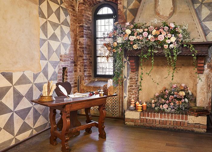 Airbnb Juliet's House, Verona Italy. Juliet's bedroom. Image: Airbnb.