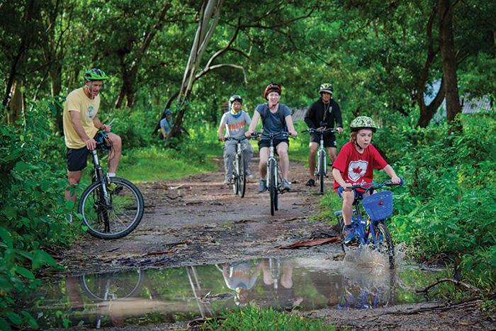 Phuket bike tours. Image: Lindy Alexander