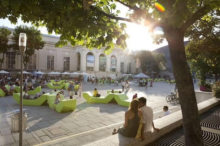 Museums Quartier, Vienna. Image: WienTourismus