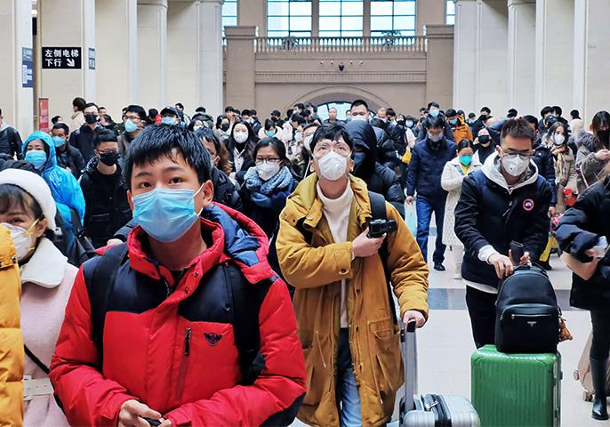 Coronavirus Wuhan. Image: Xiaolu Chu/Getty Images