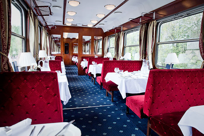 Danube Express Restaurant Car