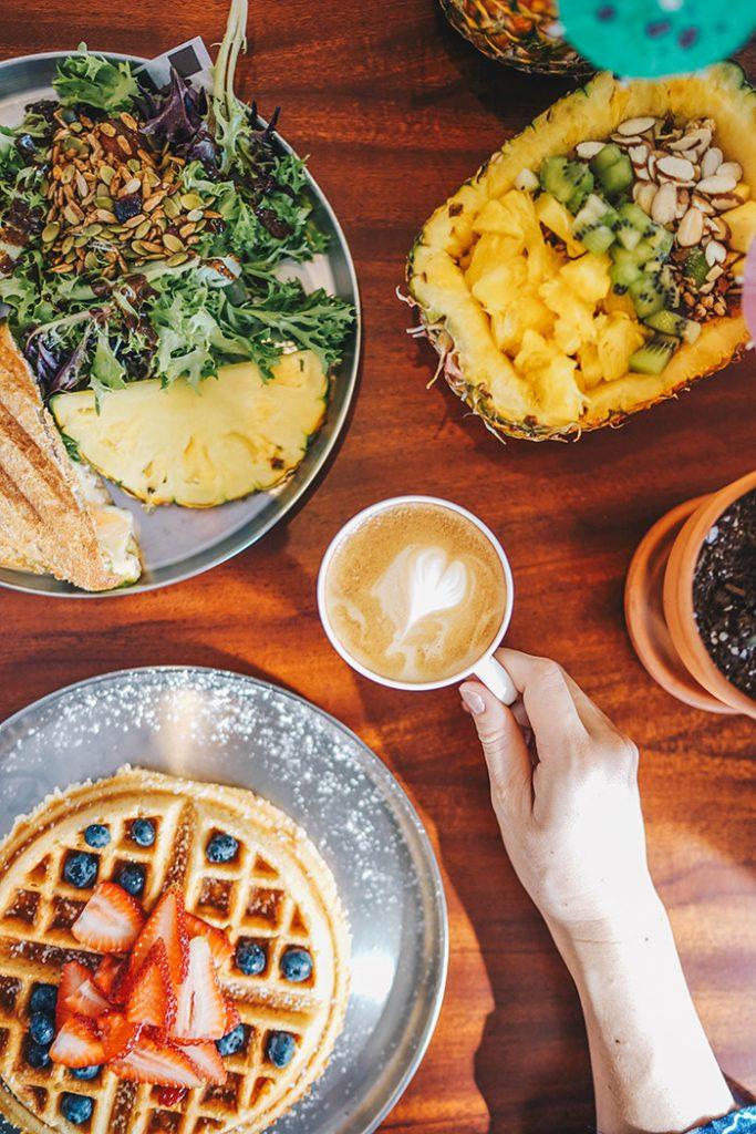 Hawaii culinary scene: Waikiki Beachcomber Outrigger Aroma Caffe