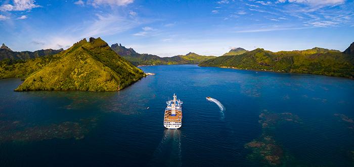 Aranui unveils new leisure cruise touring Rapa. Image: Lionel Gouverneur