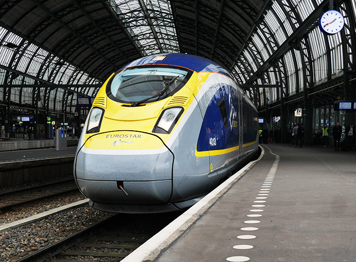 Eurostar direct Amsterdam to London