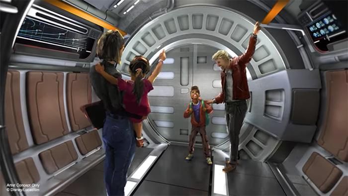 Disney World's Star Wars: Galactic Starcruiser hotel