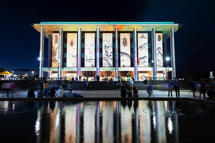 Canberra Enlighten Festival. Image: Visit Canberra