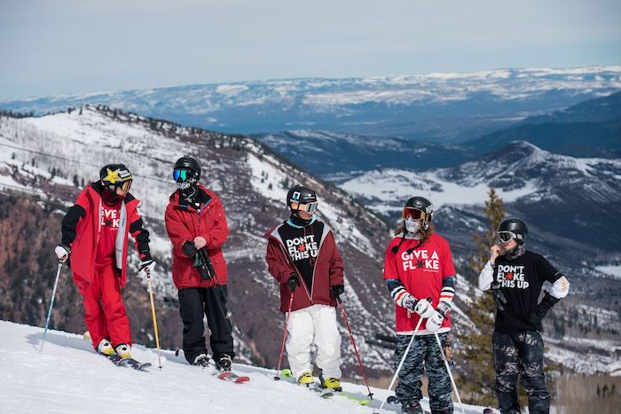 Aspen Snowmass Give A Flake campaign