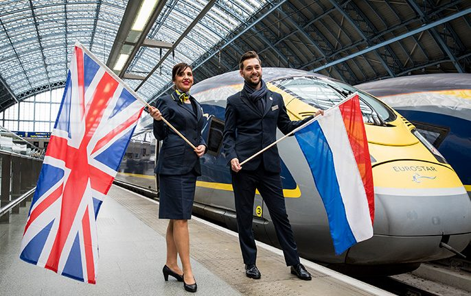 Eurostar launches direct train between London and Amsterdam