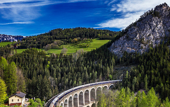 Golden Eagle Luxury Trains Kalte Rinne viaduct