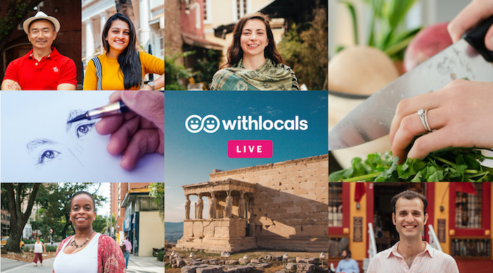 Connect with locals around the globe