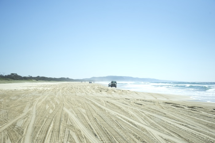 Queensland Rainbow Beach tour