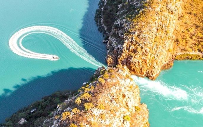 Australia natural wonders: Horizontal Falls Western Australia