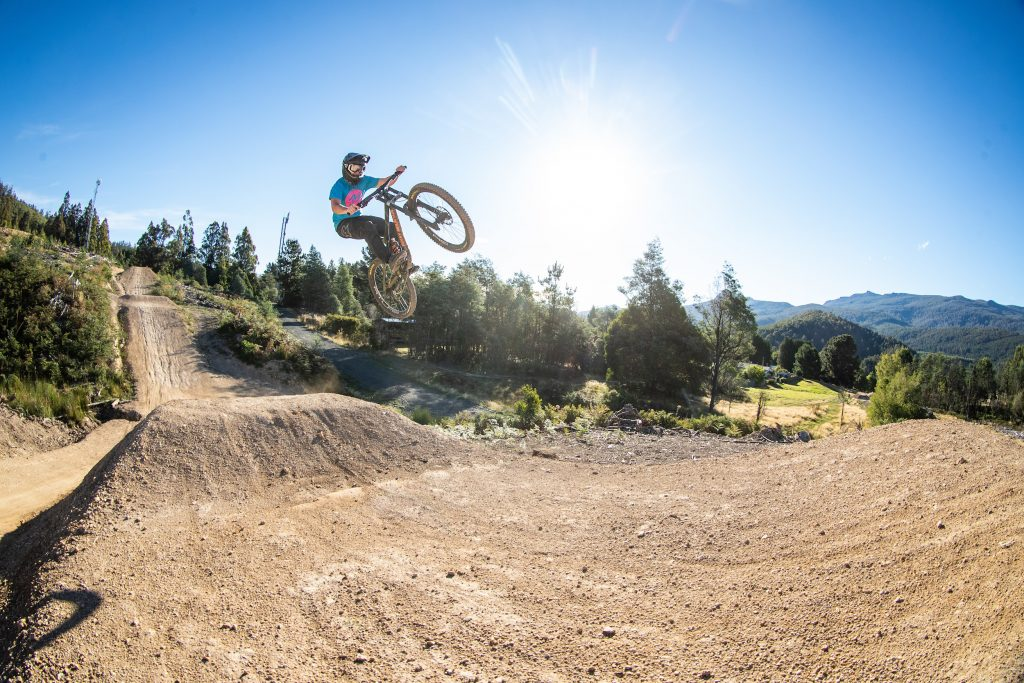 Tasmania bike trails: Maydena Bike Park. Image: Tim Bardsley-Smith