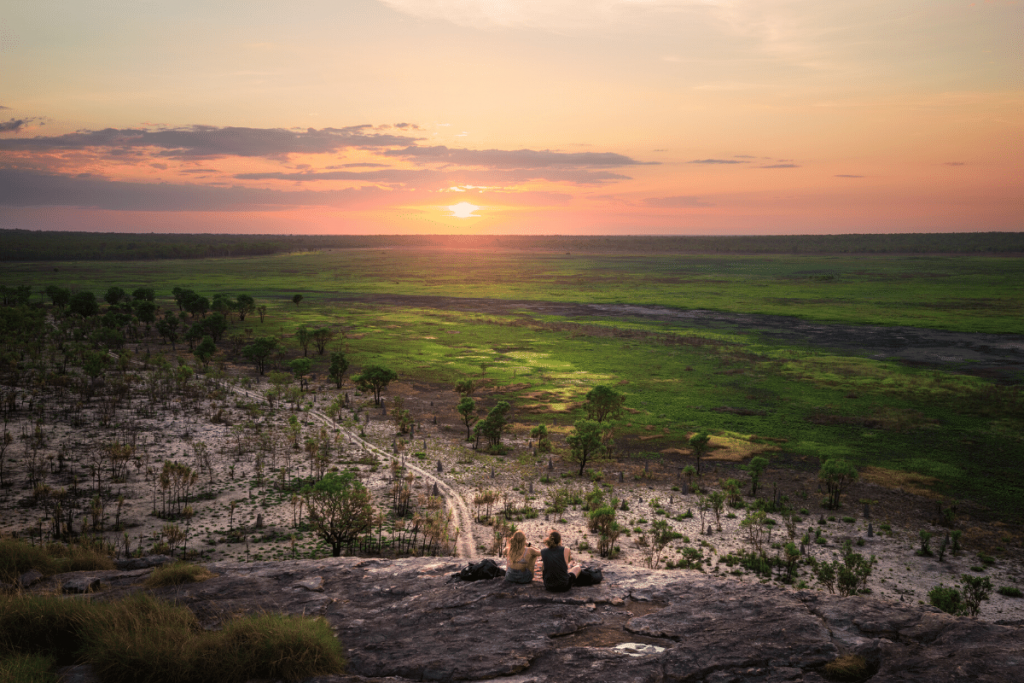 Northern Territory: sunset at Ubirr Image: Tourism NT/Daniel Tran