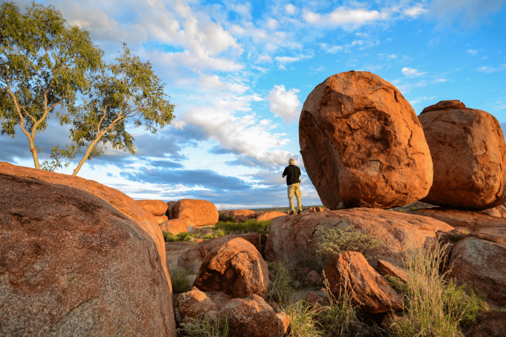 Northern Territory: Devil's Marbles Image: Tourism NT