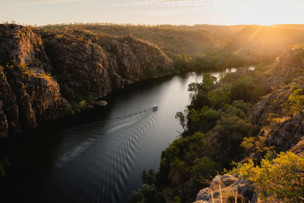 Northern Territory: Katherine Gorge. Image: Tourism NT/Jason Charles Hill