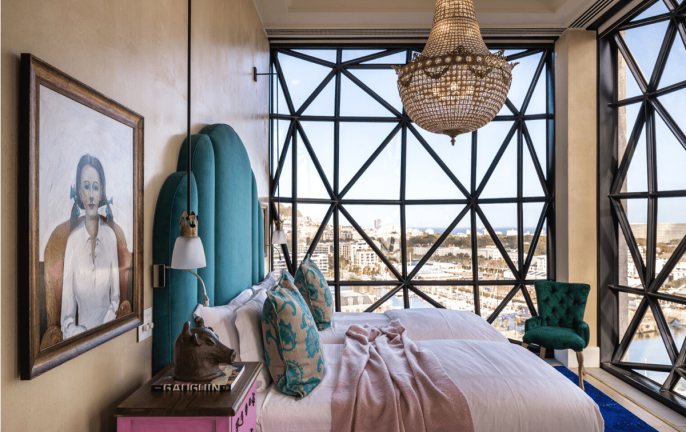 Royal Suite Bedroom | Image: The Silo - Royal Portfolio