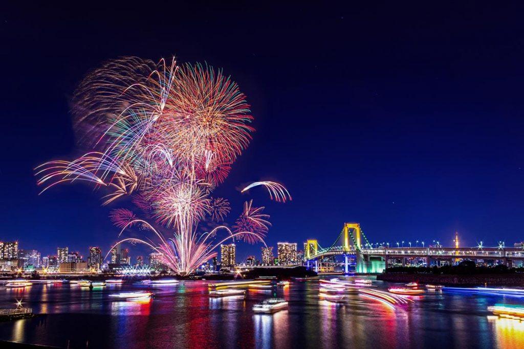 Fireworks in Tokyo