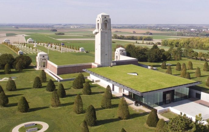 Australian Remembrance Trail of northern France