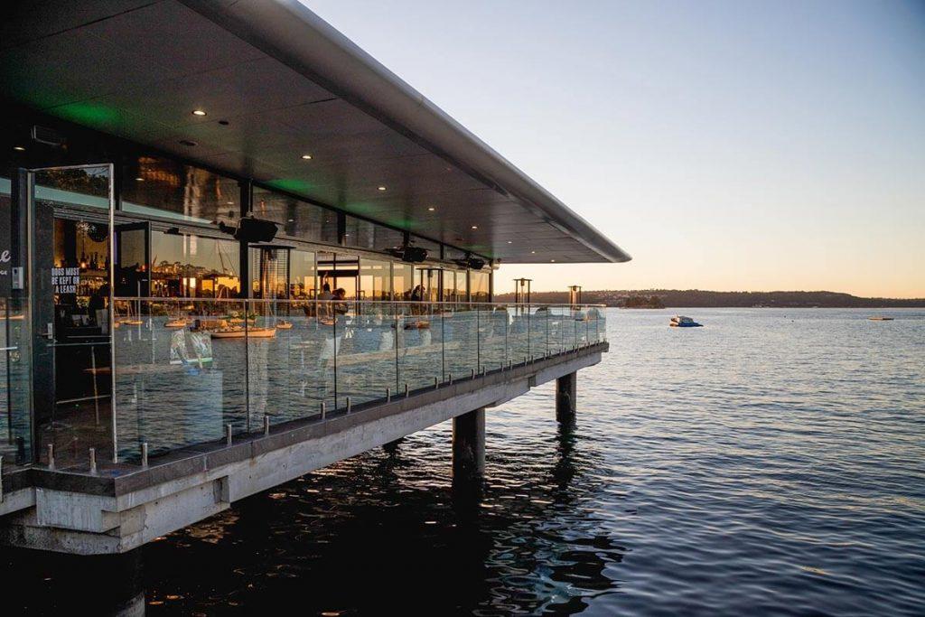 Emipre Lounge, Rose bay at dusk