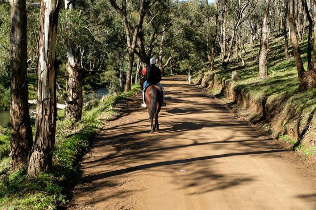 Horse riding at Turon Gates Mountain Retreat