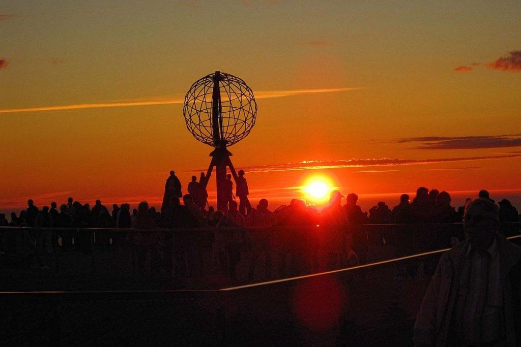 See the Midnight Sun in North Cape
