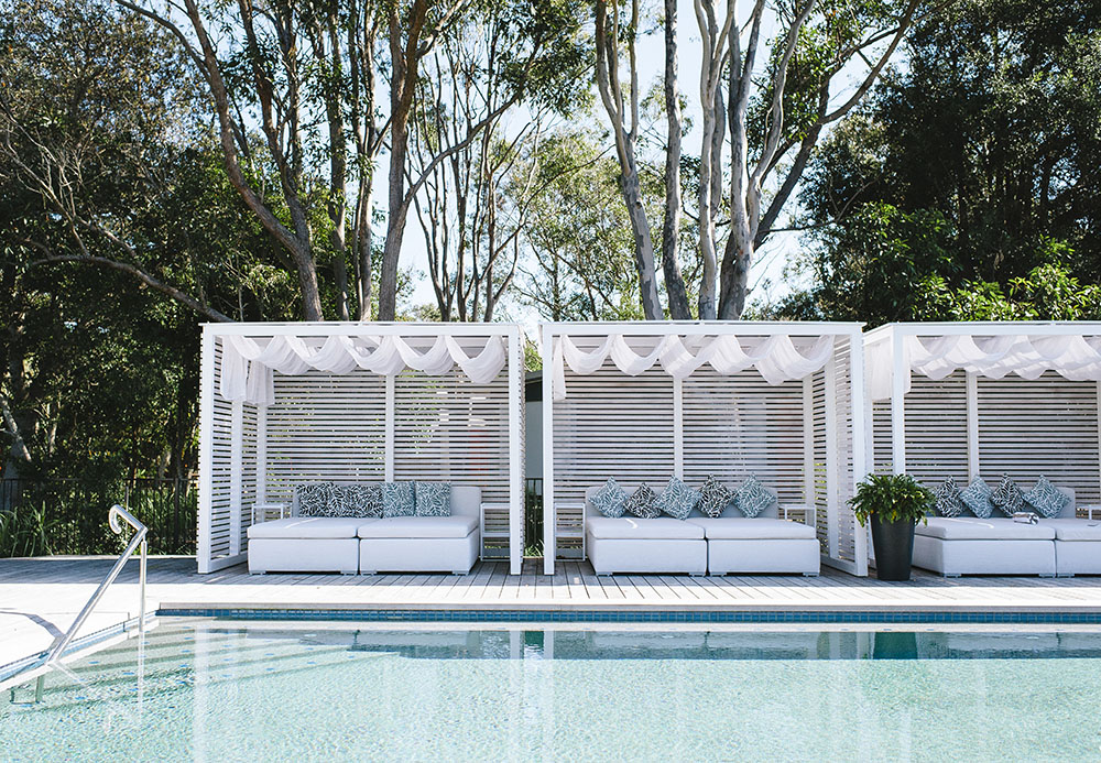 Cabanas, Adults Pool, Elements of Byron.