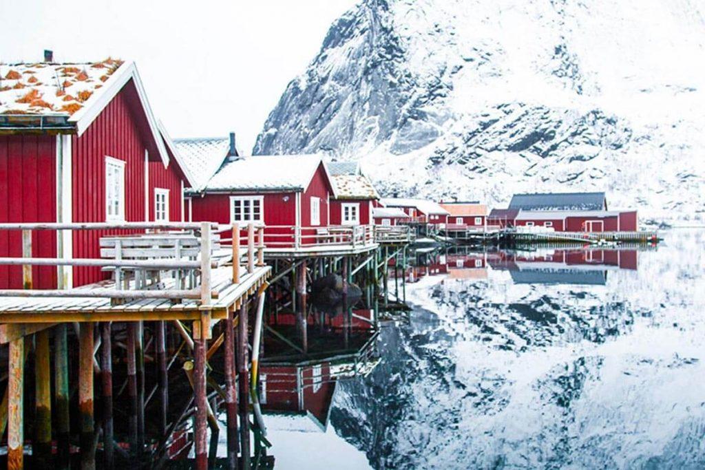 Colourful coastal villages
