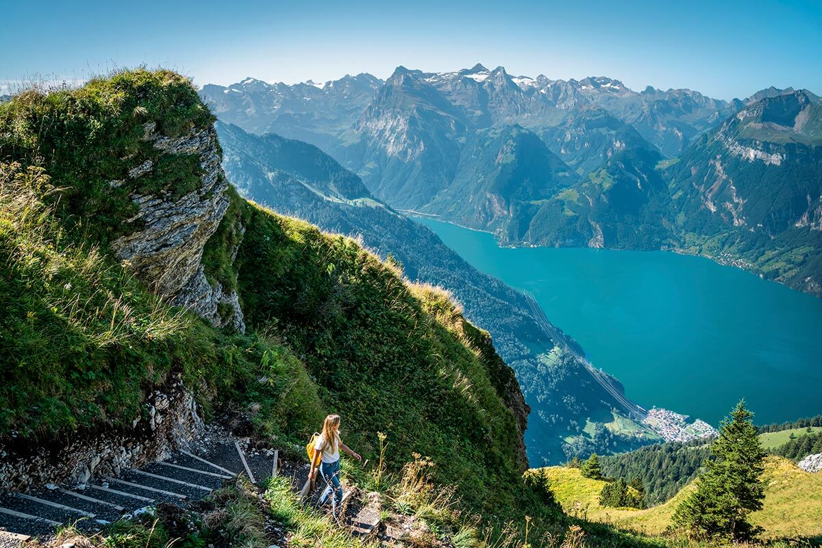 Essential Guide to Switzerland: Fronalpstock, Wanderin