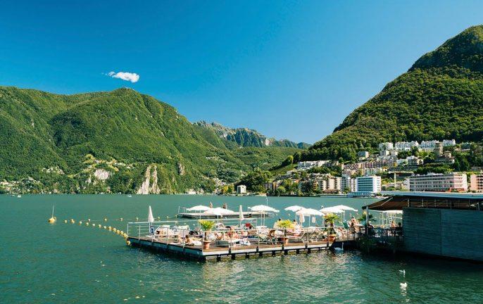 Lido Riva Caccia, Lugano