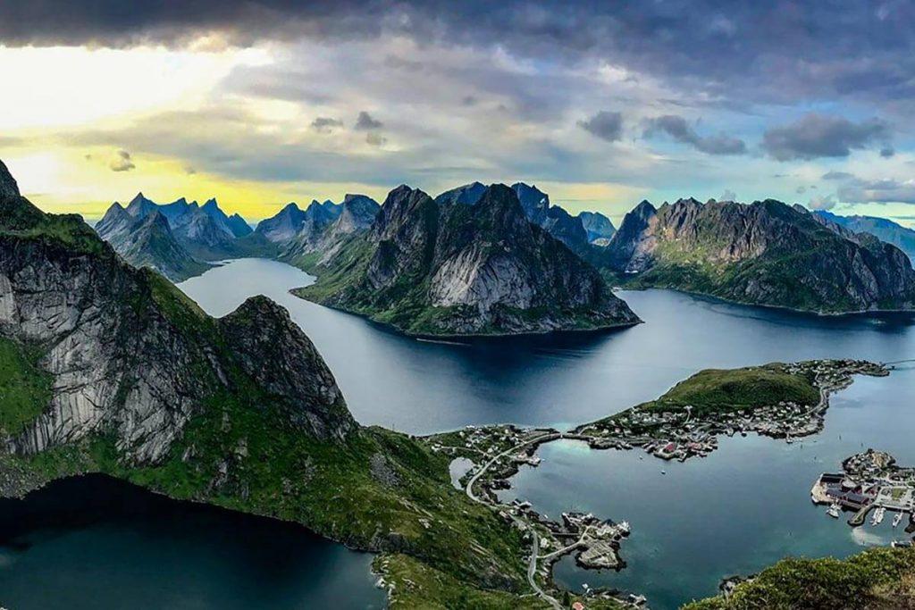 Norways dramatic coastline