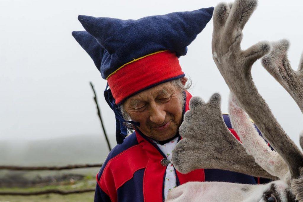 Sami tribe members