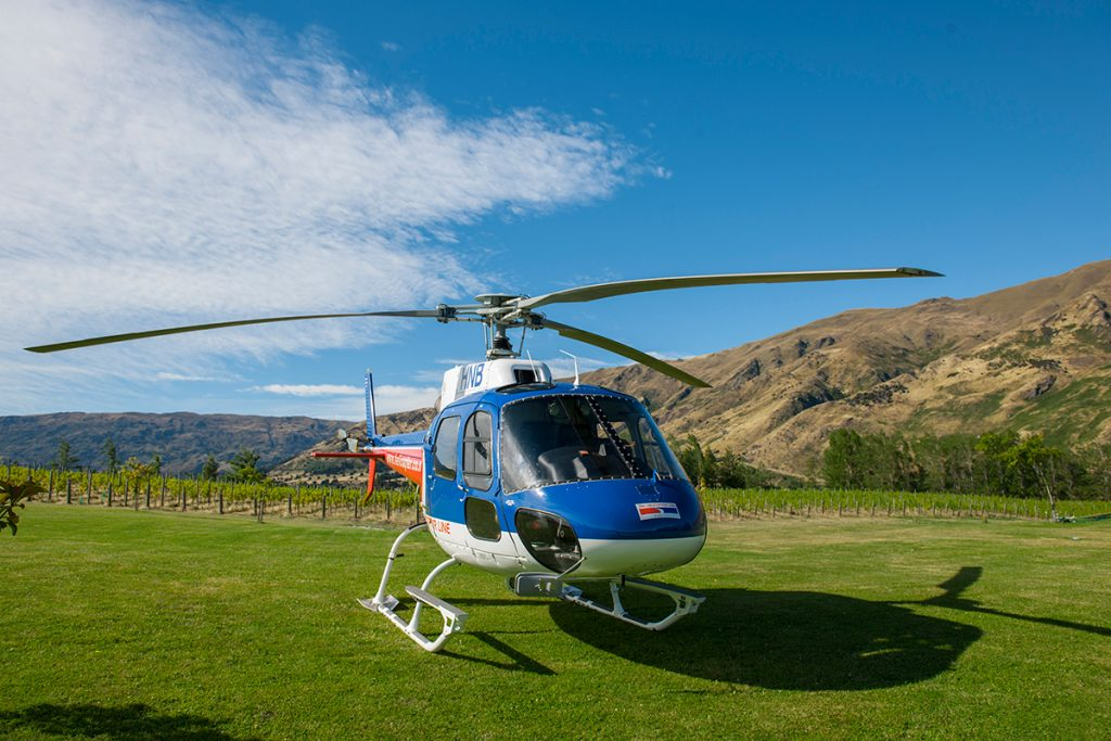 The Rees Heli-wine tours