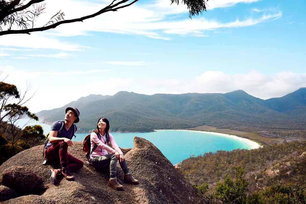 Travel Tasmania: Wineglass Bay