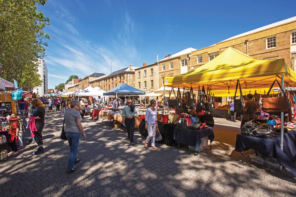Travel Tasmania: Salamanca Market, Hobart