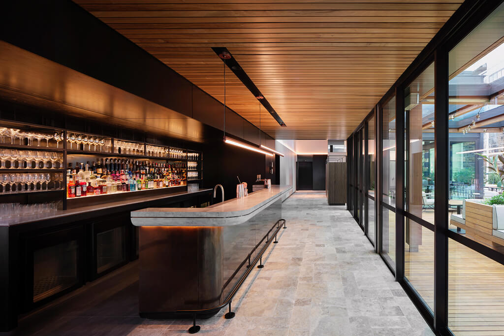 The Little National Sydney hotel bar