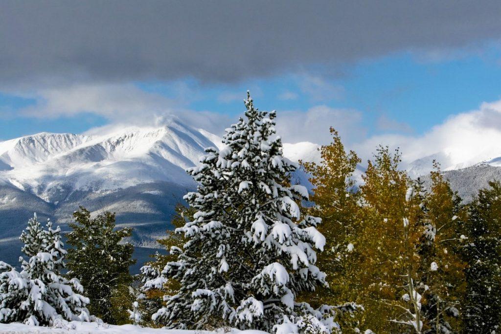 Colorado Fall: Late fall near Leadville © Matt Inden/Colorado.com