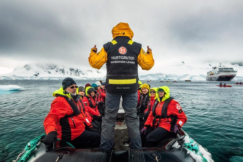 Orne Harbour, Hurtigruten Antarctica cruise from Australia