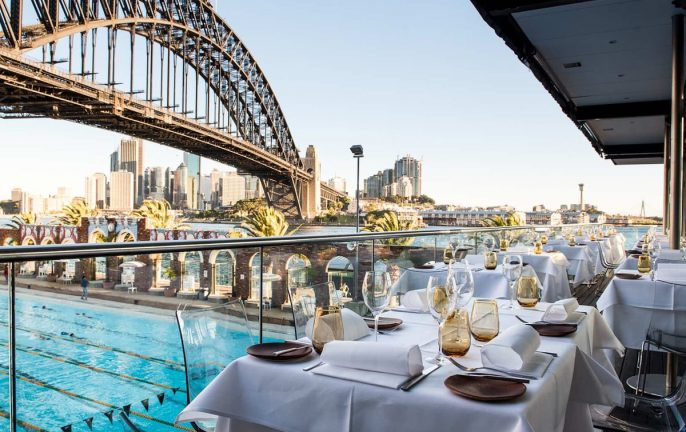 NSW vouchers for dining and entertainment: Aqua dining