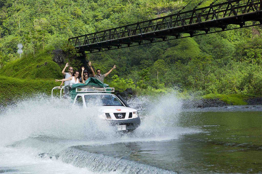 4WD in Tahiti