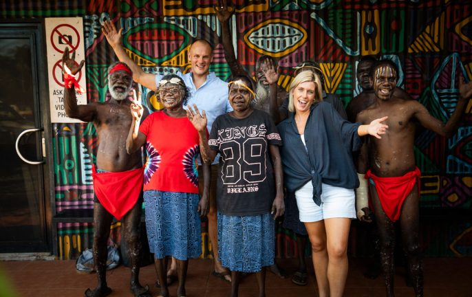 Indigenous experience: SeaLink Tiwi Islands tour © Tourism Australia