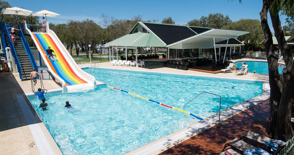 Pool at Mandalay Holiday Resort and Tourist Park in Busselton