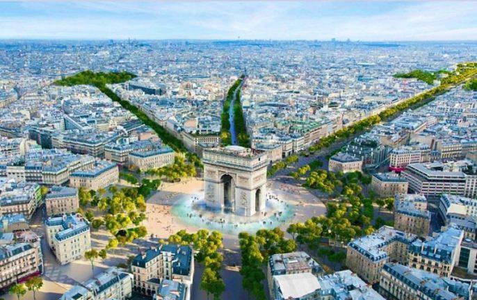 Champs-Élysées credit PCA-Stream