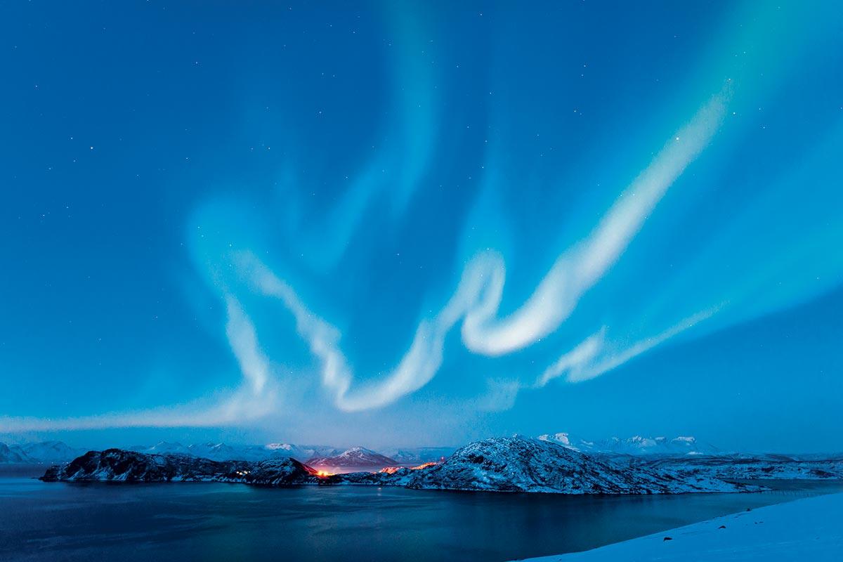 Nordlys Skjervoy, Norway