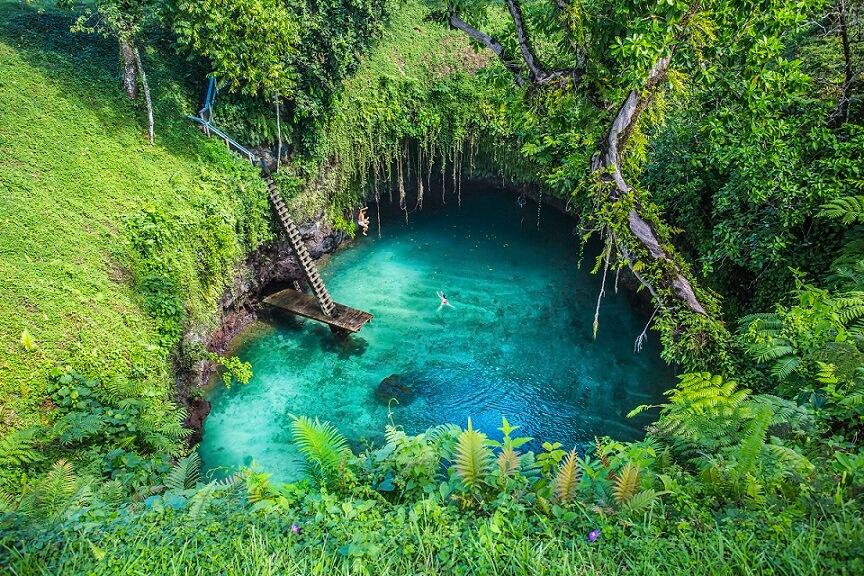 To Sua Ocean Trench Samoa