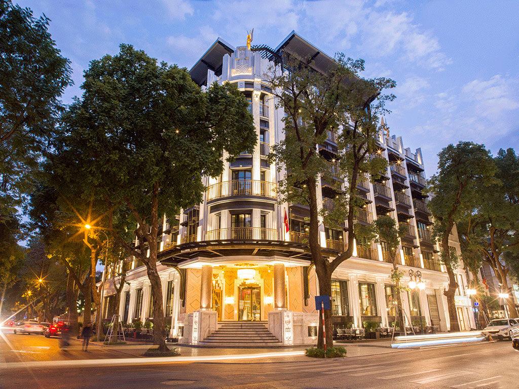 Capella Hanoi Facade
