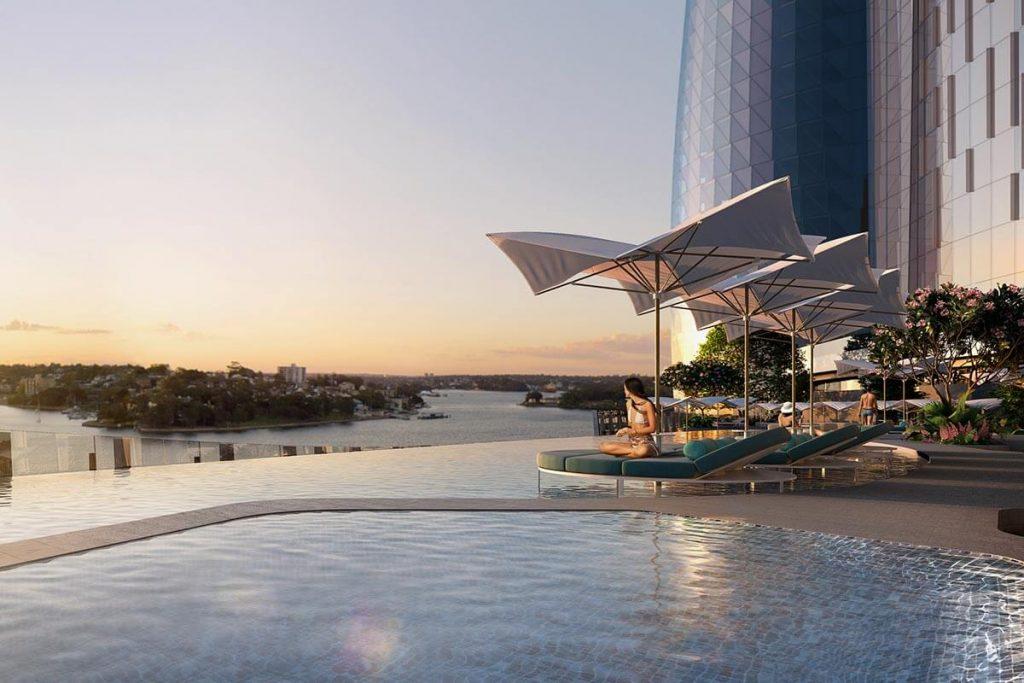 Crown Sydney pool